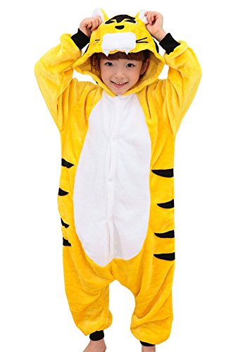 Tonwhar Costumes for Children Kids Cuddly Onesie Pajamas (140(Height:53.14