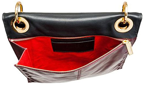 Montana Body Black E Cross Reversible in Hammitt Bag Embossed Mineral qFUxpXd