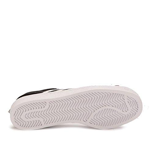 Adidas Uomo Bianco Alpinismo Superstar Slip-on Primeknit Nero Core Nero Calzature Bianco Taglia 9.5 Us