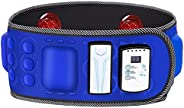 WLYX Electric Slimming Belt, Rechargeable Vibration Massage Weight Lose Belt Burning Fat Lose Weight Shake Bel