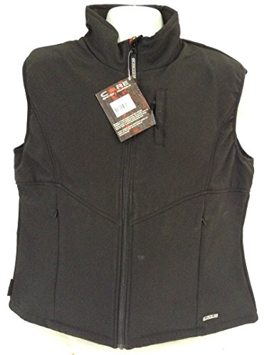 Gerbing Women's Heated Softshell Vest Black (Large)