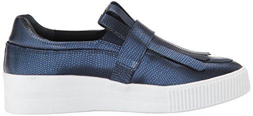 Steven Por Steve Madden Mujeres Annalee Fashion Sneaker Navy