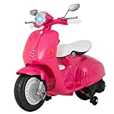 Uenjoy Kids Ride On Motorcycle 12V Electric Battery Powered Motorbike for Girls, Detachable