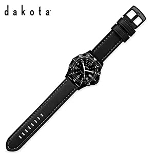 Dakota Tritium Leather Watch