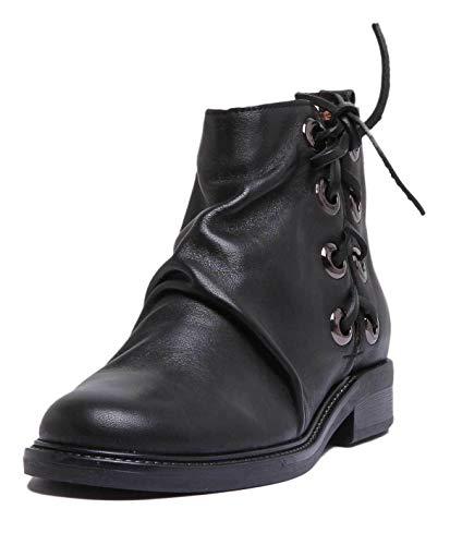 Justin Reece A-6550-117-572-zc-1, Bottes Pour Femme - Noir Noir, 38 2/3