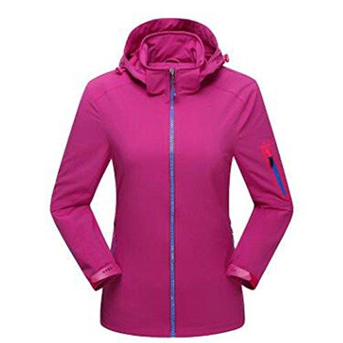 Lady New Wear Sottile Lai Aperta Wu Antivento Viola Sport Mountain All'aria Giacche RZO1WcAwq