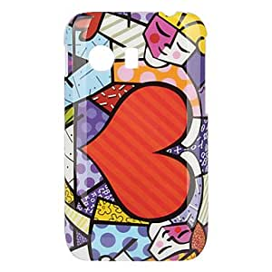 Heart-Shaped Design Hard Case for Samsung GALAXY Y S5360