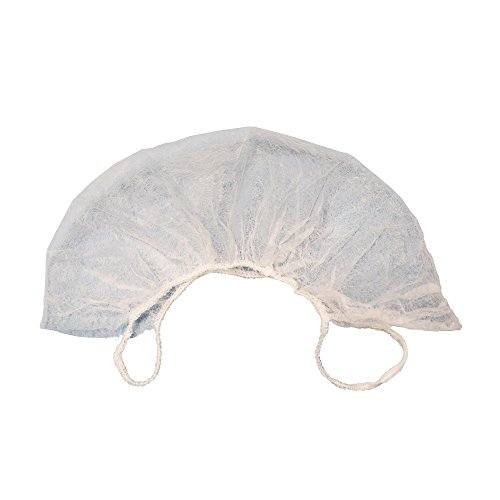 AMMEX - BR1 - Beard Cover - Disposable, Non-woven polypropylene, Unisize, White (Case of 1000) by Ammex (Image #1)