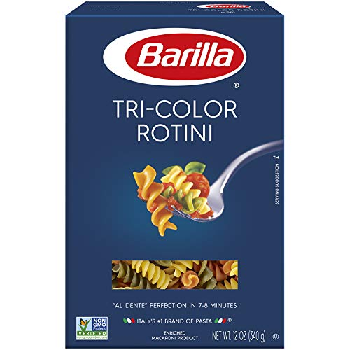 Barilla Tri Color Rotini, 12 oz