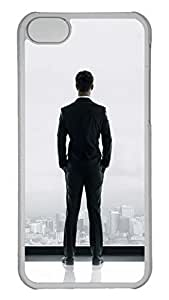 Creative GOOD 5C Case, iPhone 5C Case, Personalized Hard PC Clear Shoockproof Protective Case Cover for New Apple iPhone 5C - Fifty Shades Of Grey Movie Man