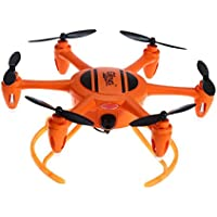 Owill Gteng T907W Mini Quadcopter 0.3MP Camera Six Axis Aerial Remote Control Toy Helicopter (Orange)