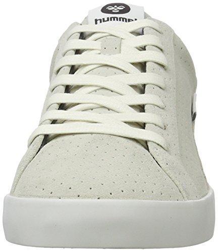 Hummel Cross Court Suede, Zapatillas para Hombre Blanco (White)