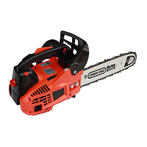 LANGYU Gasoline Chain Saw 25CC 12 Inch for Wood Cutting with Top-Level Configuration ()