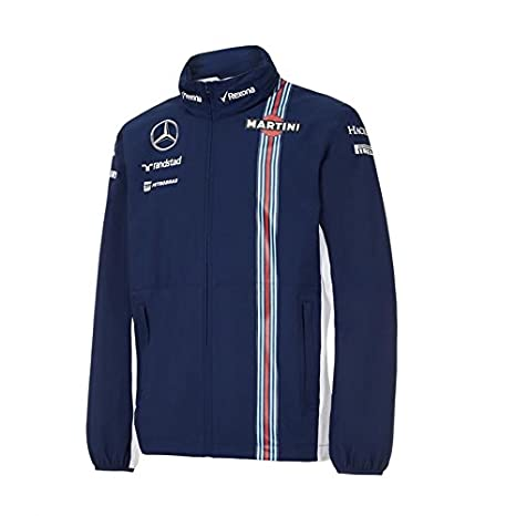 Amazon.com : Williams Martini Racing Rain Jacket : Sports ...