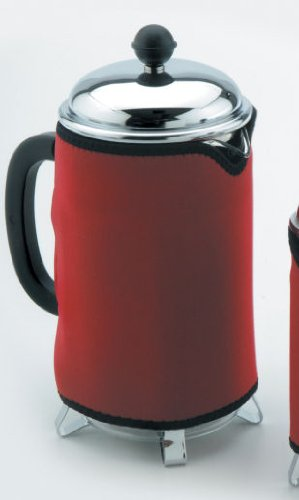 Red Cafetiere / Coffee Press Cozy / Coat - 8 Cup