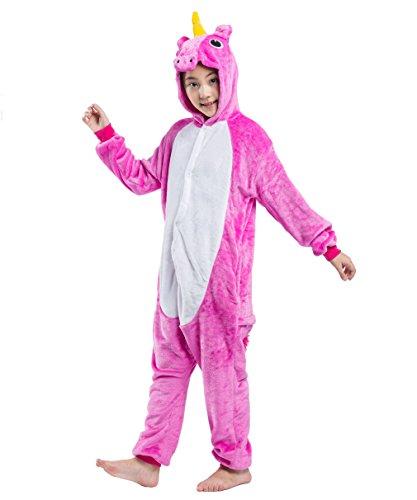 Animali Akaayuko Dei Pigiameria Flanella Unisex Pigiami Costumi Rosa Rossa Bambini wpUcqXUZ