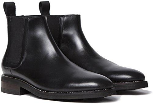 Jeudi Compagnie De Démarrage Duke Hommes Chelsea Boot Noir
