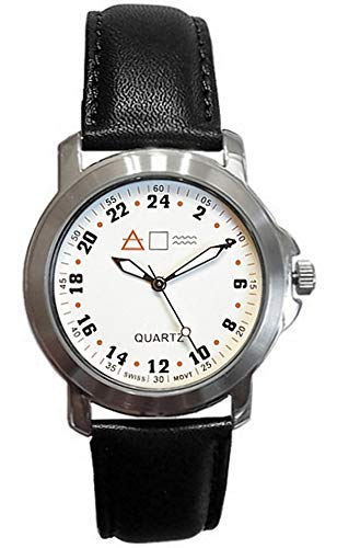 Forté Military Time Quartz Marine Army Navy Officer White Dial Men