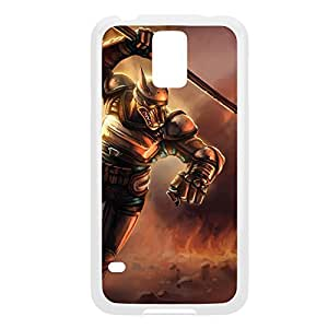 Nasus-004 League of Legends LoL case cover Iphone 5/5S - Plastic White