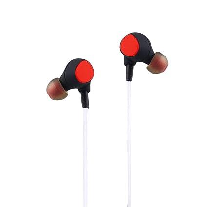 Sencillo Vida Auriculares Bluetooth 4.1 Cascos inálambrico Luminiscente LED Deportivos Sonido Estéreo iPhone, Samsung,