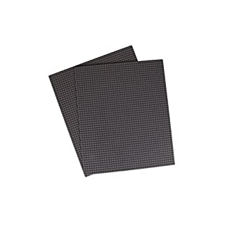 """Strictly Briks Classic Baseplates for Building Bricks 100% Compatible with Major Brands   Building Bases for Tables, Mats and More!   2 Base Plates in Gray 15.75"""" x 13.25"""""""