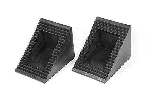 wurktol Heavy Duty calces de rueda de goma (par)–mechanic-grade rueda tapones–para uso con: coches, caravanas,...