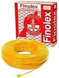 Finolex 1Sqmm Wire 90m coil - Yellow