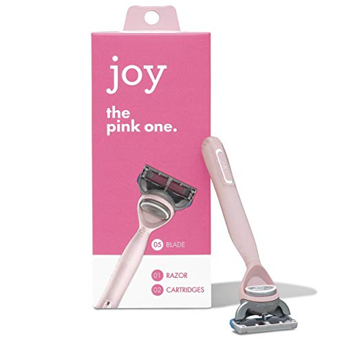 Joy, The Pink One, 1 Razor and 2 Cartridges