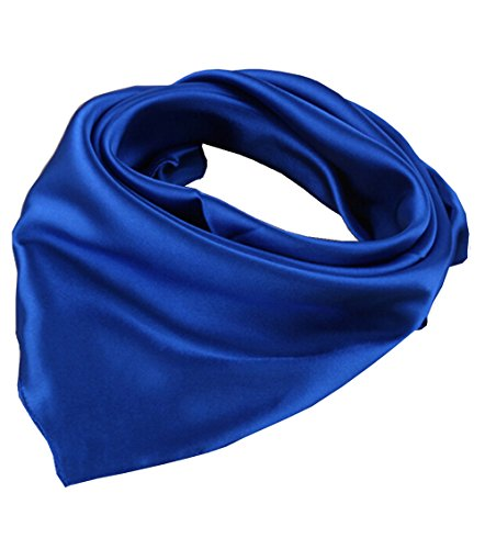 Womens Solid Color Square Neckerchief product image