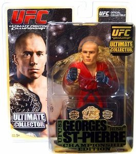 UFC Ultimate Collector Series 8 George Rush St-Pierre (Championship Edition with Belt)