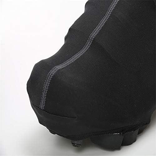 サイクリングシューズカバー ソリッドカラーサイクリング自転車靴カバー自転車乗馬靴カバー多機能靴カバー 防水レインブーツシューズカバー (Color : Blue, Size : XL)