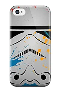 Premium WOpxPoB931hWFHC Case With Scratch-resistant/ Stormtrooper - Star Wars Case Cover For Iphone 4/4s