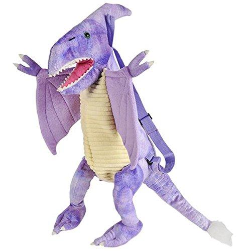 Plush Dinosaur Childrens Travel and Adventure Backpack Bag - ()