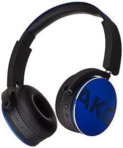Amazon.com: AKG Bluetooth Headphone, Blue (Y50BT): Electronics