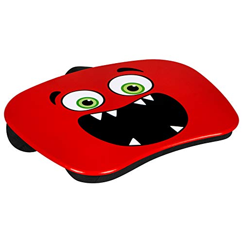 LapGear MyMonster Lap Desk - Red - Fits up to 15.6 Inch Laptops - Style No. 46506