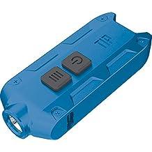 Nitecore Tip 360 Lumens Tube Light USB Rechargeable Keychain Flashlight (Blue)