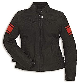 Ducati DAINESE Classic C2 Mujer Chaqueta de piel Negro ...