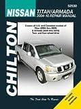 Chilton Nissan Titan (2004 thru 2014) and Armada (2005 thru 2014) Repair Manual (52530)