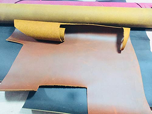 Gano Zen Sy Tools Crazy RSE Skin Leather 2.0mm - Vegetable Tanned Leather Wax Leather Leather Retro Style - 5 Size - 6 Color Available by Gano Zen (Image #5)