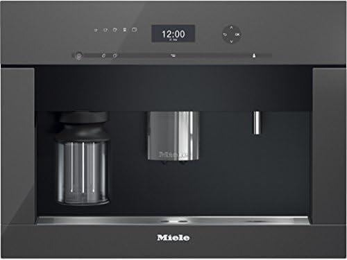 Miele CVA 6401 Integrado Totalmente automática Máquina espresso 2.3L 15tazas Gris - Cafetera (Integrado, Máquina espresso, 2,3 L, Molinillo integrado, 2800 W, Gris): Amazon.es: Hogar