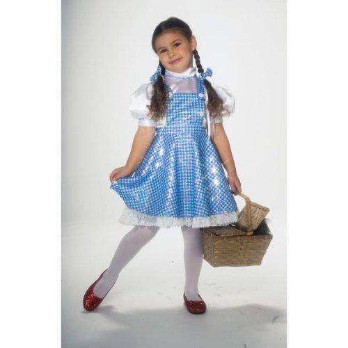 Deluxe Sequin Dorothy Costumes (Wizard of Oz Child's Deluxe Sequin Dorothy Costume, Toddler by Rubie´s)