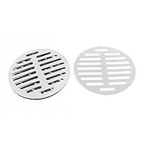 uxcell Kitchen Bathroom Round Floor Drain Drainer Cover 6 Inch 15cm Dia 6Pcs