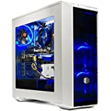 SkyTech Oracle Gaming Computer Desktop PC Ryzen 1200 3.1GHz Quad-Core, GTX 1050TI 4GB, 16GB DDR4 2400, 120GB SSD, 1TB HDD, Wi-Fi USB, Windows 10 Home 64-bit