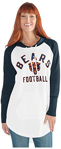 NFL Chicago Bears Adult Women All Division Tunic Hoodie, X-Large, (Chicago Tunic)
