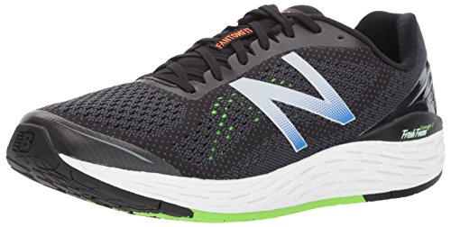 New Balance Men Fresh Foam Vongo V2 Running Shoes, Black Black/Energy Lime