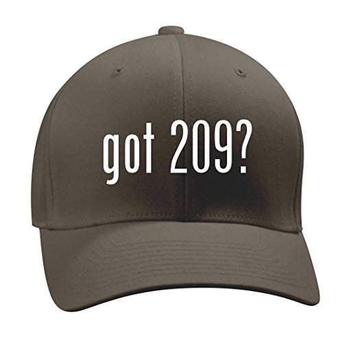 got 209? - A Nice Men's Adult Baseball Hat Cap, Dark Grey, Large/X-Large