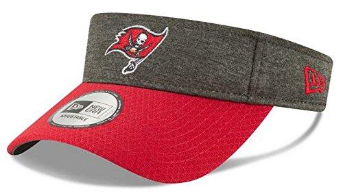 New Era 2018 NFL Sideline Tampa Bay Buccaneers Visor Hat Cap Red/Gray 11762010