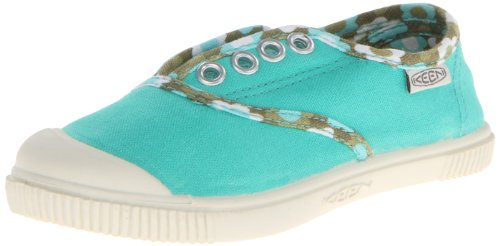 KEEN Maderas Oxford Shoe (Toddler/Little Kid/Big Kid),Pool Green Flower Pattern,11 M US Little - Stores Madera