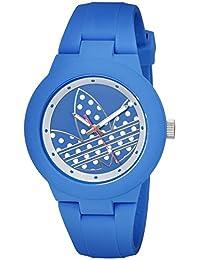 Adidas Women's ADH3049 Aberdeen Analog Display Quartz Blue Watch