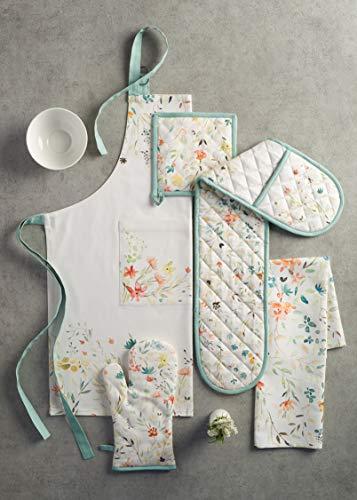 Maison d' Hermine Colmar 100% Cotton 1 Piece Kitchen Apron with an Adjustable Neck & Visible Center Pocket with Long… 6